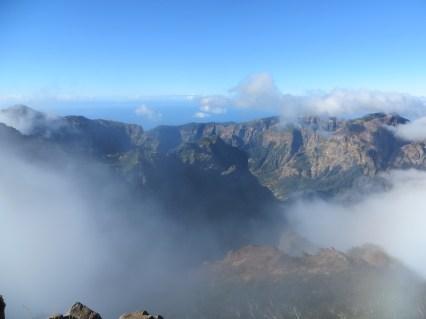 Aussicht auf dem Pico Ruivo