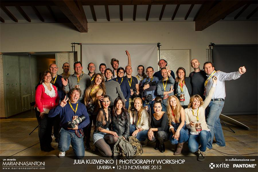 Julia's 2-day Workshop in Italy, organized by Marianna Santoni