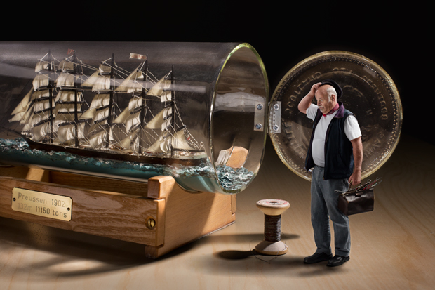 "How To Build A Ship In A Bottle"", J. Flury, 2013"