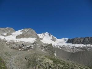 Gran Paradiso bergtochten en bergtrekkings