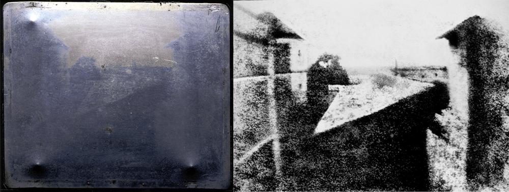 point du vue du gras premiere photographie 1827