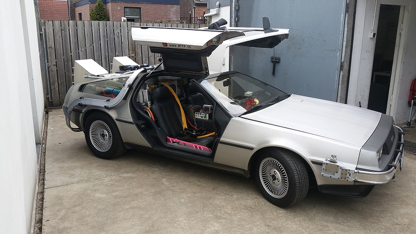 back to the future full scale delorean rc controlled