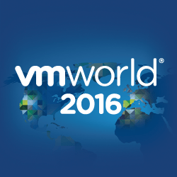 VMworld 2016 US report part 1
