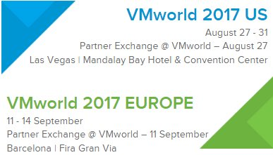VMworld EU here I come!