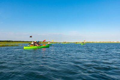 Ocean Isle Beach-Kayaking
