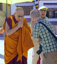 BJ and HHDL