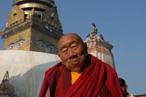 monk lama nepal tour travel india