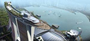 Singapore's famous Marina Bay Sands hotel.