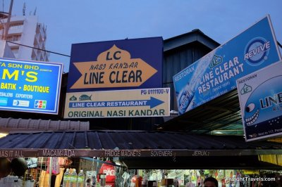 Can't miss Line Clear restaurant