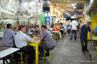 Inside Line Clear alleyway restaurant