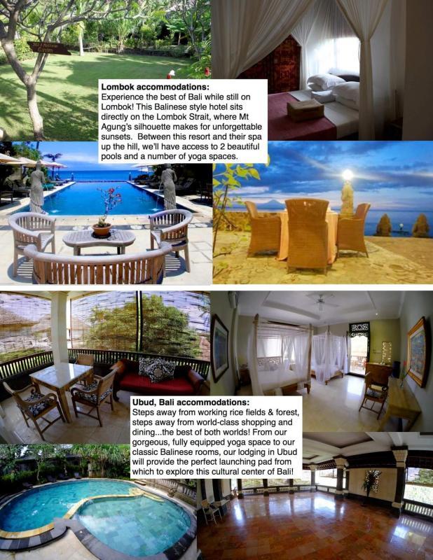 Bali  2015 accommodations sheet REVISED 2