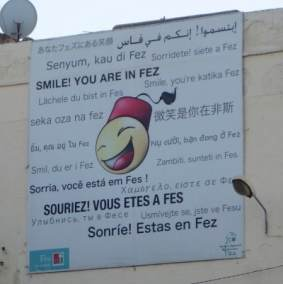 smile you are in fez