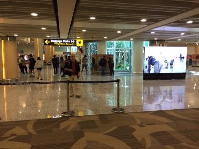 luggage in ngurah rai bali airport