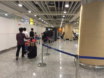 scanning luggage before you leave bali airport