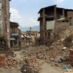 A scene from our visit to Bhaktapur on June 9th.