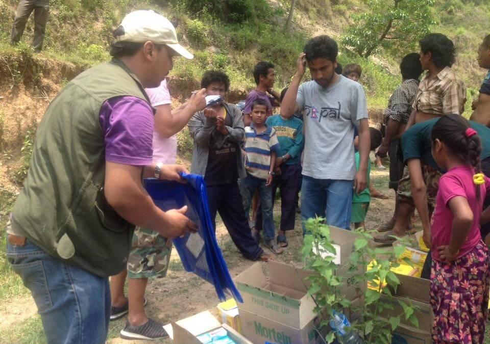 Nepal Earthquake Relief Donation Recipients, June 2015