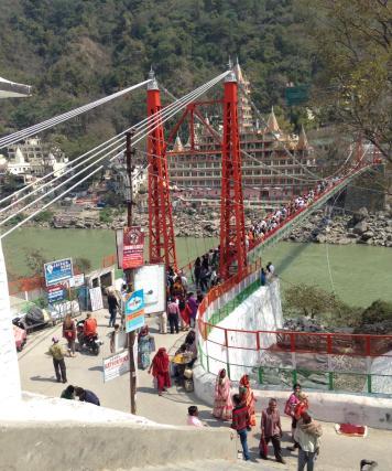 Rishikesh bridge