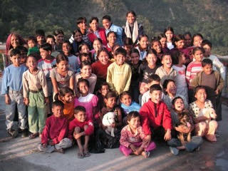 The shining faces of Ramana's Garden Children's Home