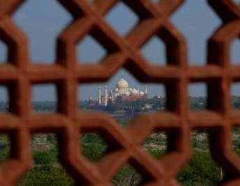 taj from fort