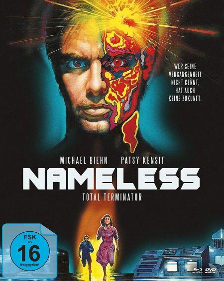 Nameless - Total Terminator - Mediabook - Cover