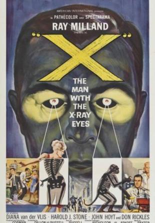 Der Mann mit den Röntgenaugen (1963) 18.09.1963 (US) Horror, Science Fiction, Thriller