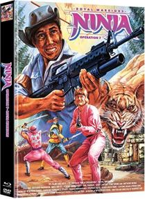 Ninja Operation 7 - Royal Warrior (Secret of the Lost Empire) - Mediabook - Cover B - Limited Edition (+ DVD) [Blu-ray]