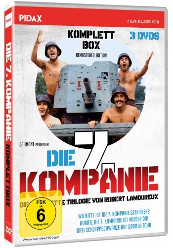 Release: Die 7. Kompanie-Komplettbox (La 7ème compagnie)