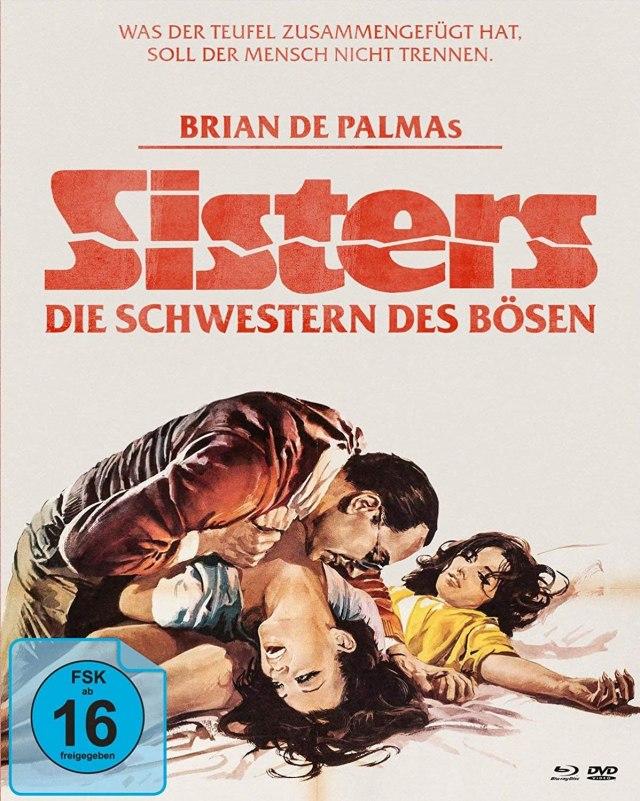 Release: Sisters - Die Schwestern des Bösen (+ DVD) (+ Bonus-DVD)