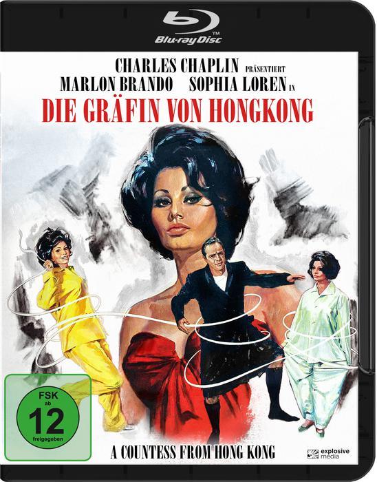 DIE GRÄFIN VON HONGKONG, England 1966, Charles Chaplin