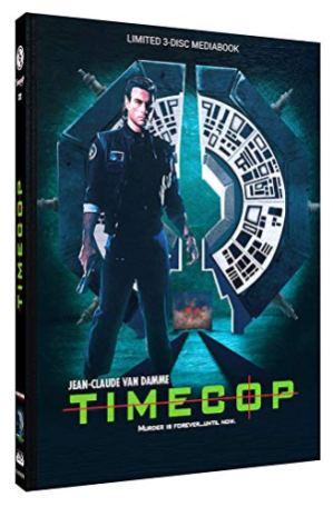 Timecop (1994) - erscheint in drei verschiedenen Mediabooks