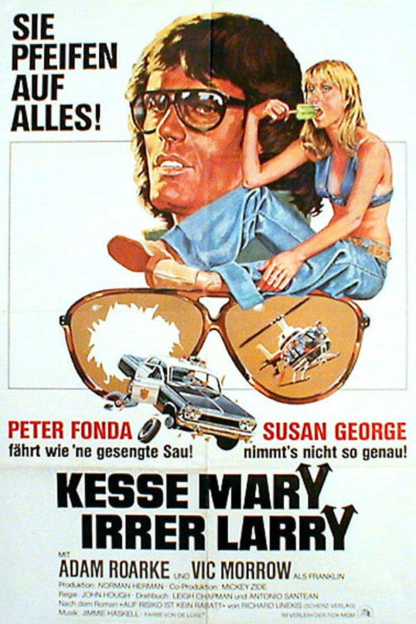 No one's faster than Crazy Larry, except Dirty Mary! - Kesse Mary - Irrer Larry (1974)