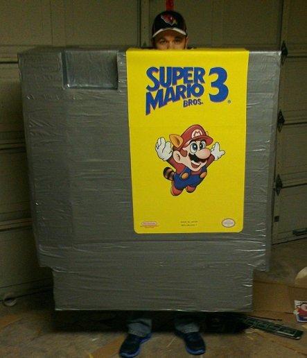 Costume de la cartouche de Super Mario Land 3