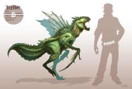 Artwork du Pokémon Insécateur par Arvalis