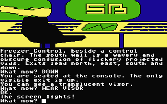 Commodore 64 version of classic Level 9 adventure 'Snowball' (1983) as seen in the SIlicon Dreams trilogy (1986)