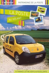 """Collection de timbres """"La Poste au Volant"""""""