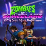 Call of Duty with Zombies in Spaceland