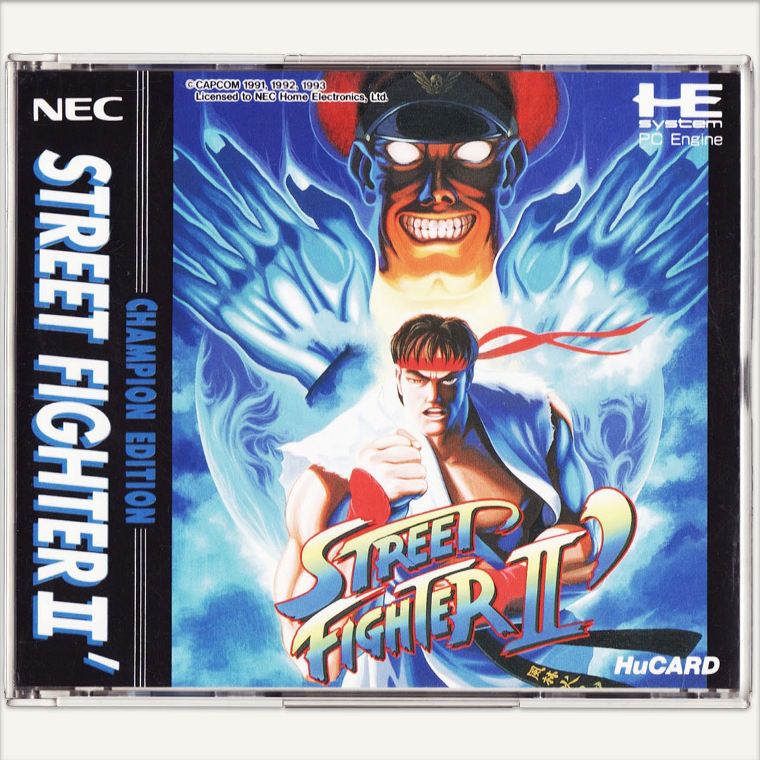Street Fighter II Champion Edition PC Engine [Japan Import] - Retrobit Game