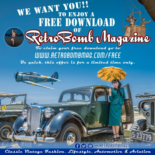 RetroBomb Magazine full edition 3 free copy