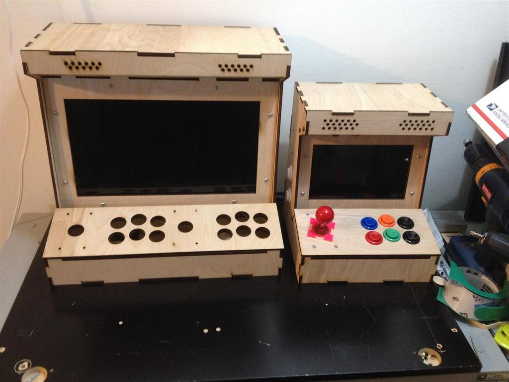 Arcade Cabinet Machine Kit Diy | memsaheb.net