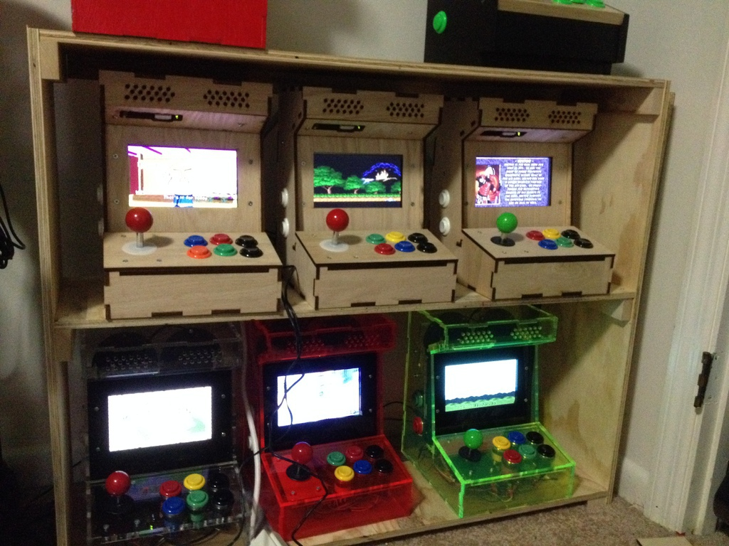 Arcade Cabinet Build Kit | memsaheb.net