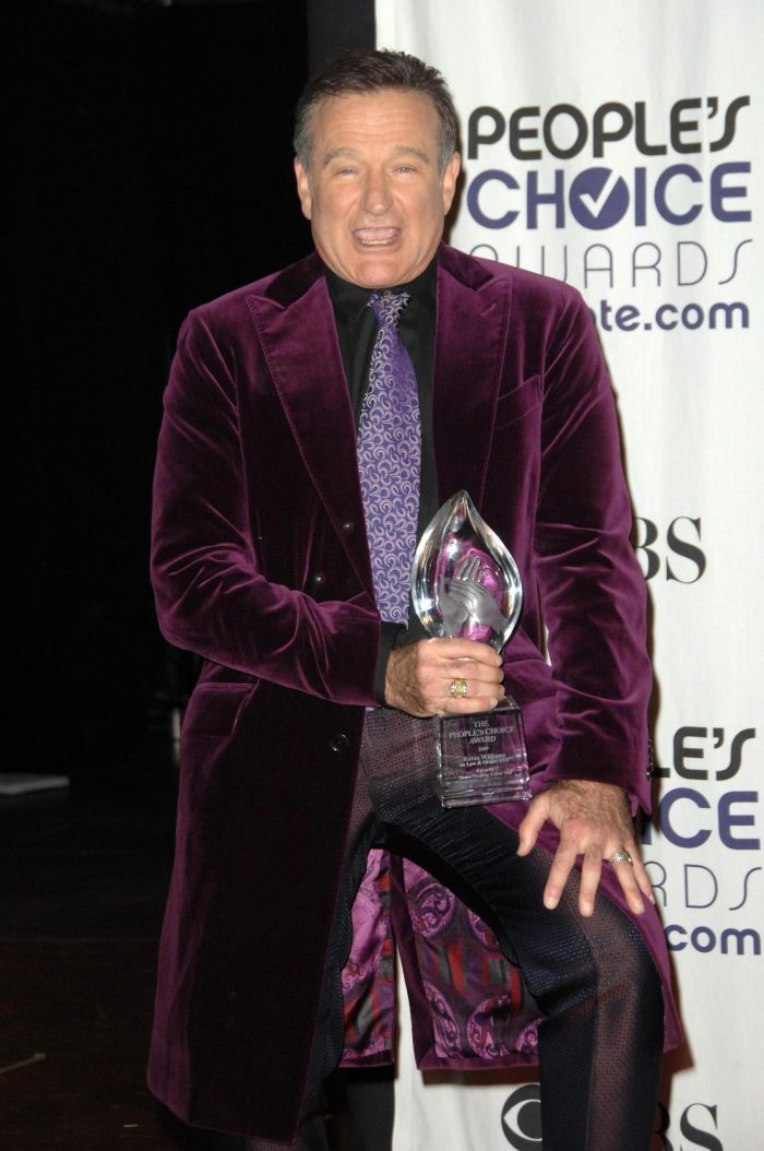 robin williams peoples choice award goofy