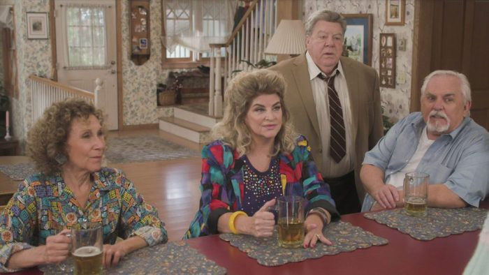 cheers reunion on the goldbergs
