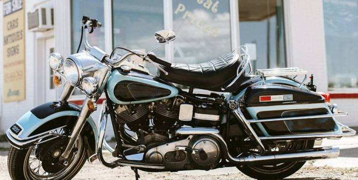elvis presley motorcycle for auction