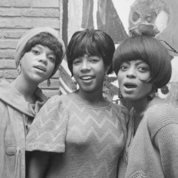 The founding members of the Supremes Diana Ross and Mary Wilson grew up together as classmates and friends