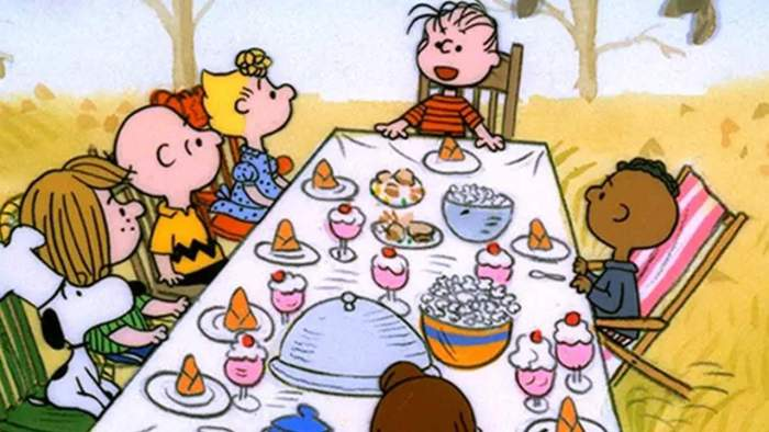 charlie brown thanksgiving holiday special
