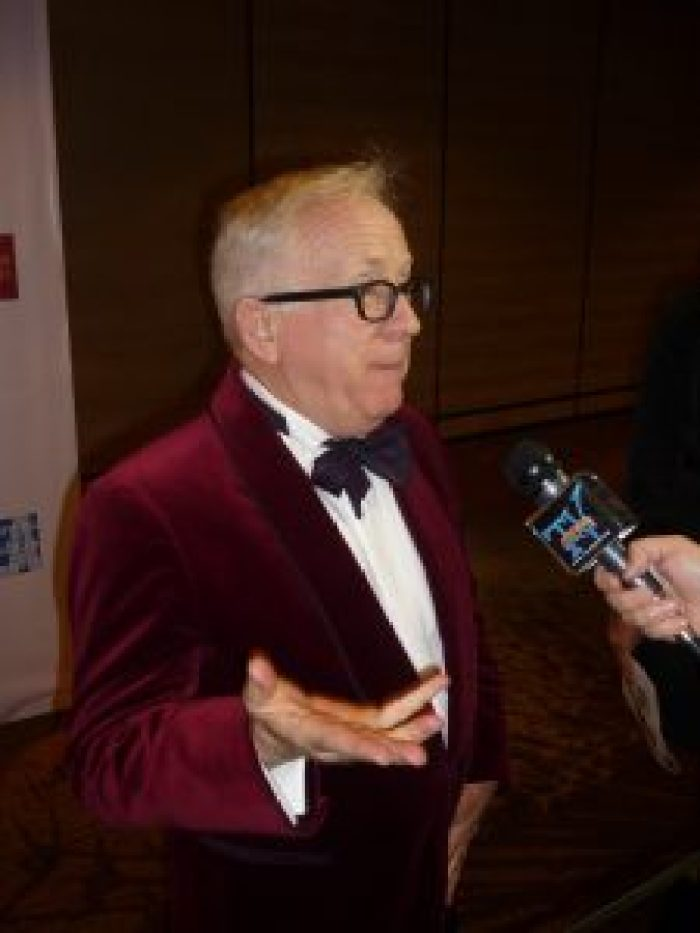Leslie Jordan has seen a lot on the show, but not the tension fans expected