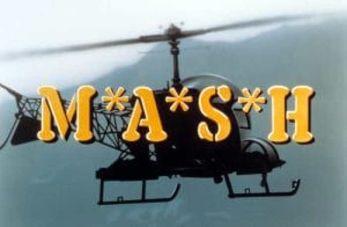 M*A*S*H, Opening sequence