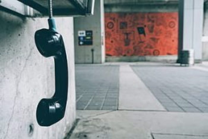 Payphones went from indoors manned by an attendant to outdoors with coin mechanisms