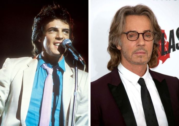 rick springfield then and now