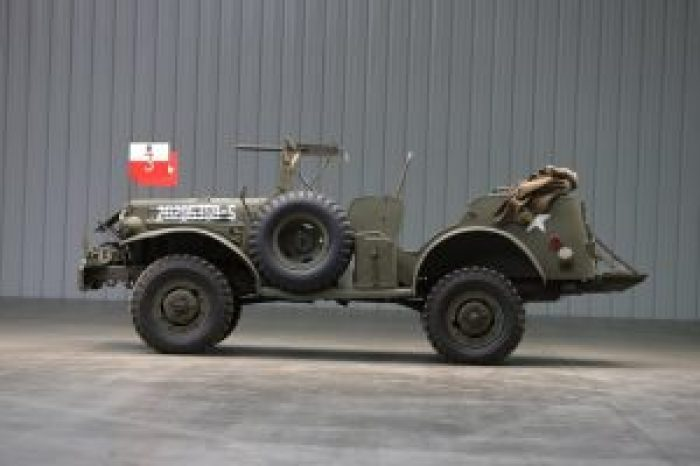 This Command Car is precisely the impressive, effective vehicle General Patton would have relied on